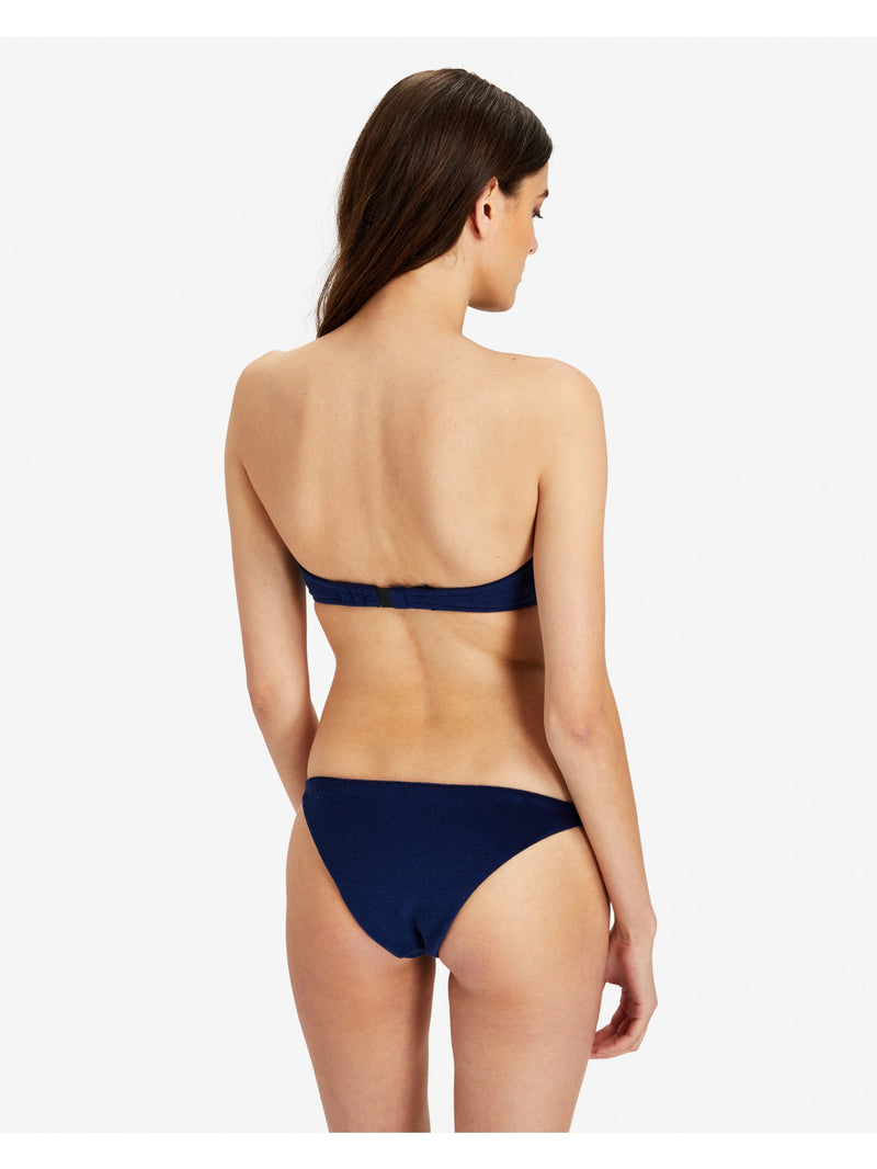 Designer Brand: Onia Product: Onia Genevieve Bandeau Top –Navy Terry-Cloth