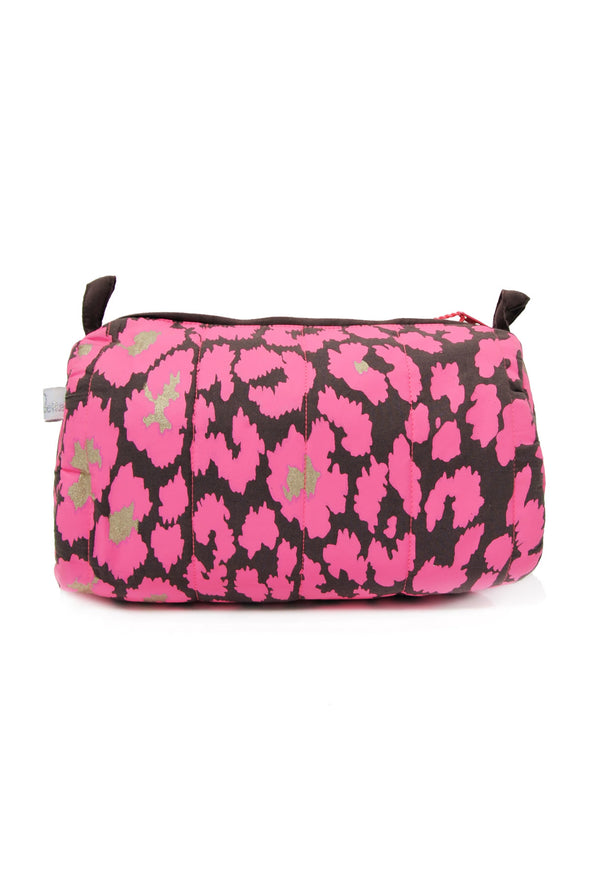 Designer Brand: Mercy Delta Product: Mercy Safari Pink Small Cosmetic Bag