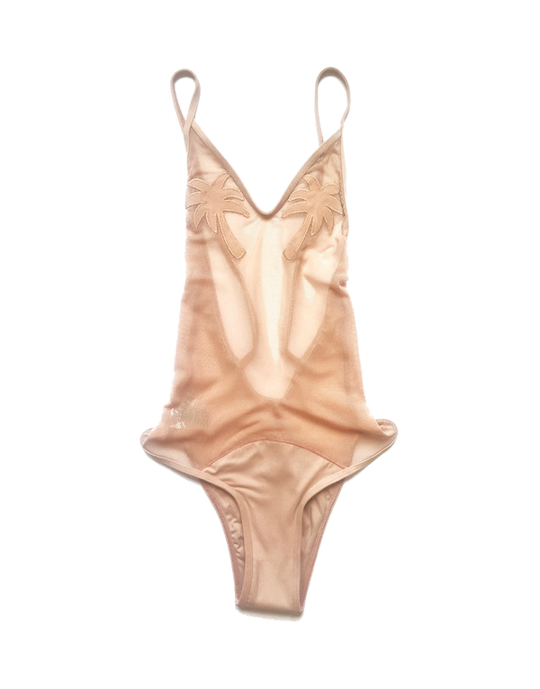 Designer Brand: Minimale Animale Product: Golden Triangle One Piece Swimsuit - Coco