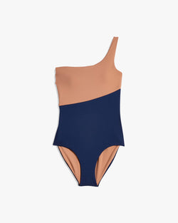 Designer Brand: Onia Product: Onia Sienna One shoulder Swimsuit
