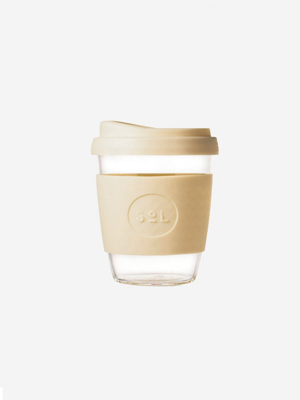 Designer Brand: SoL Cups Product: 12oz Costal Cream Reusable Cup