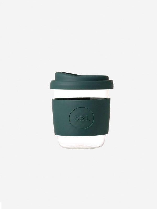 Designer Brand: SoL Cups Product: 8oz Deep Sea Green Reusable Cup