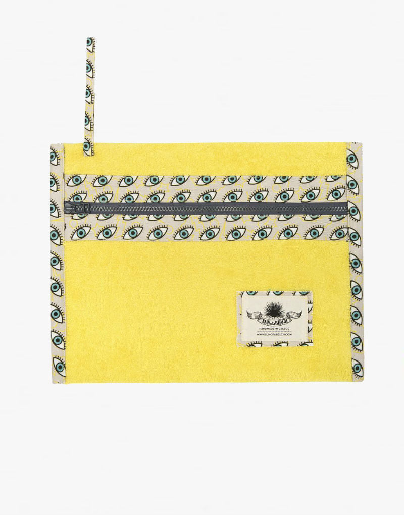 Designer Brand: Sun of a Beach Product: Sun of a Beach Eyes Wide Open Waterproof Travel Pouch