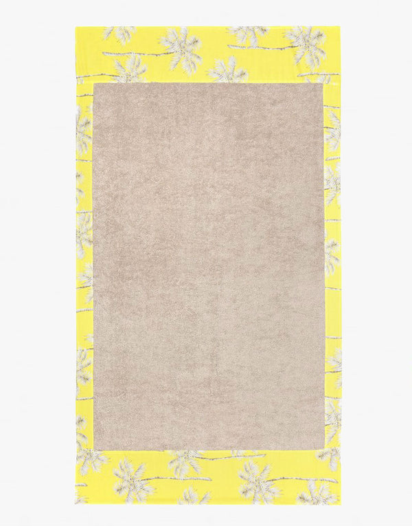 Designer Brand: Sun of a Beach Product: Sun of a Beach Bora Bora Beach Towel - Beige