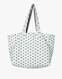 Designer Brand: Sun of a Beach Product: Sun of a Beach Watch Out Printed Egyptian Cotton Towel Beach Bag