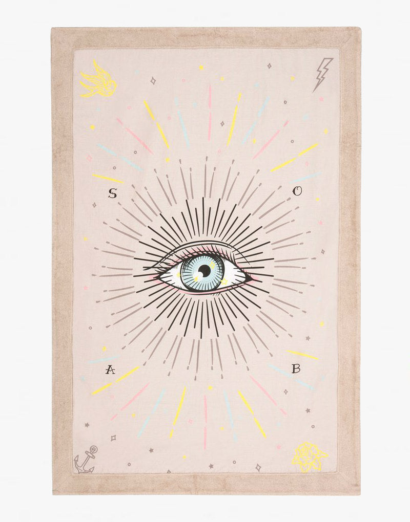 Designer Brand: Sun of a Beach Product: Sun of a Beach Third Eye Signature Beach Blanket