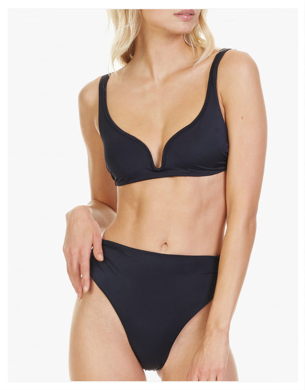 Designer Brand: Tori Praver Product: Tori Praver High Waist Symone Bottom – Black