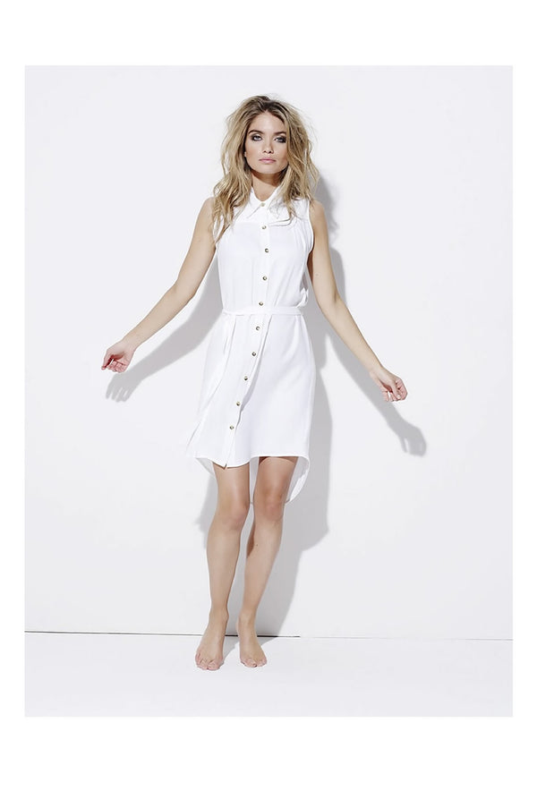Designer Brand: Varley Product: Varley Hannah White Shirt Dress