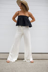 BELLAMI PANTS - WHITE