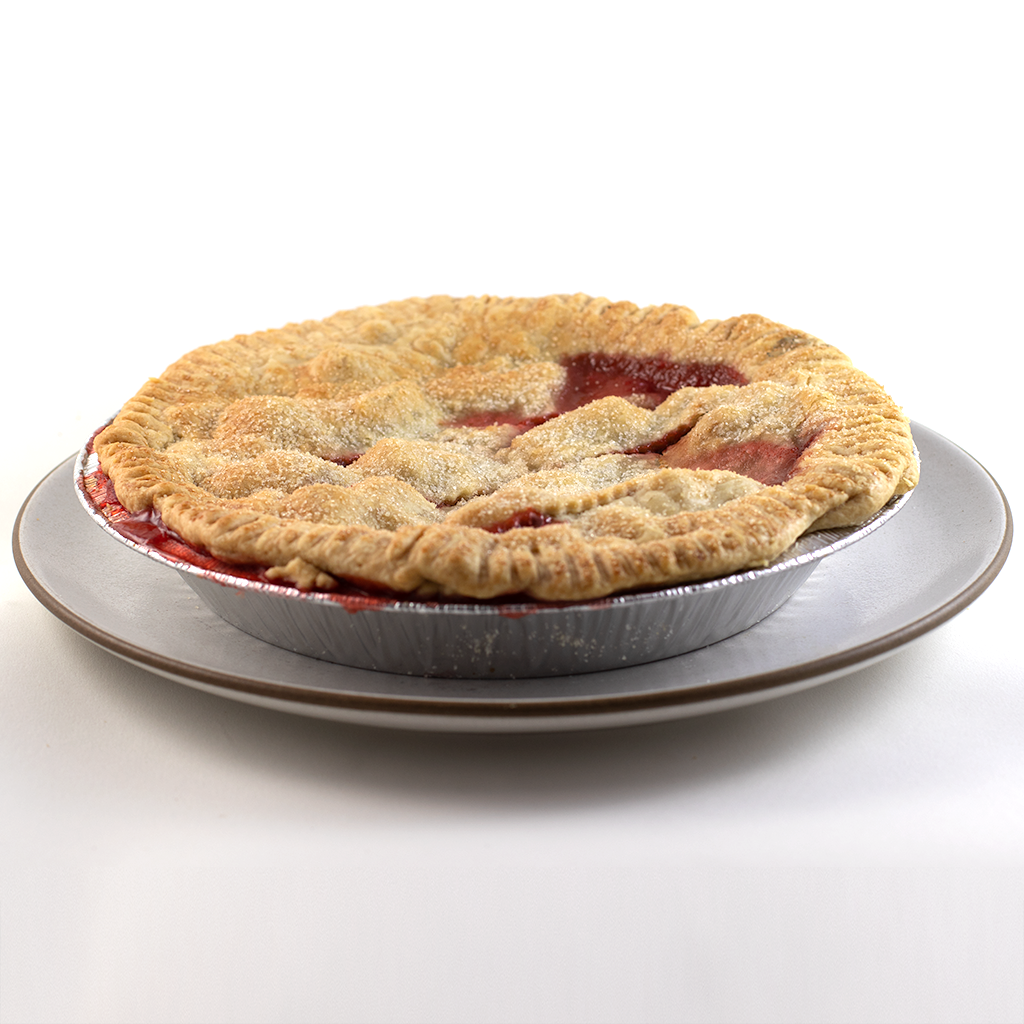 Strawberry Rhubarb Pie Shipped