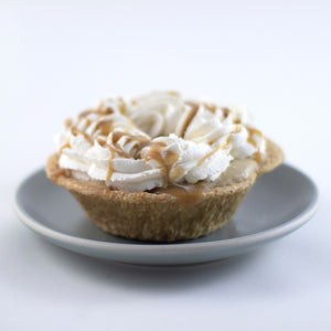 Butterscotch Banana Cream Pie with Salted Caramel