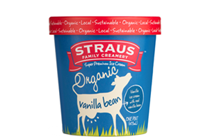Straus Vanilla Ice Cream