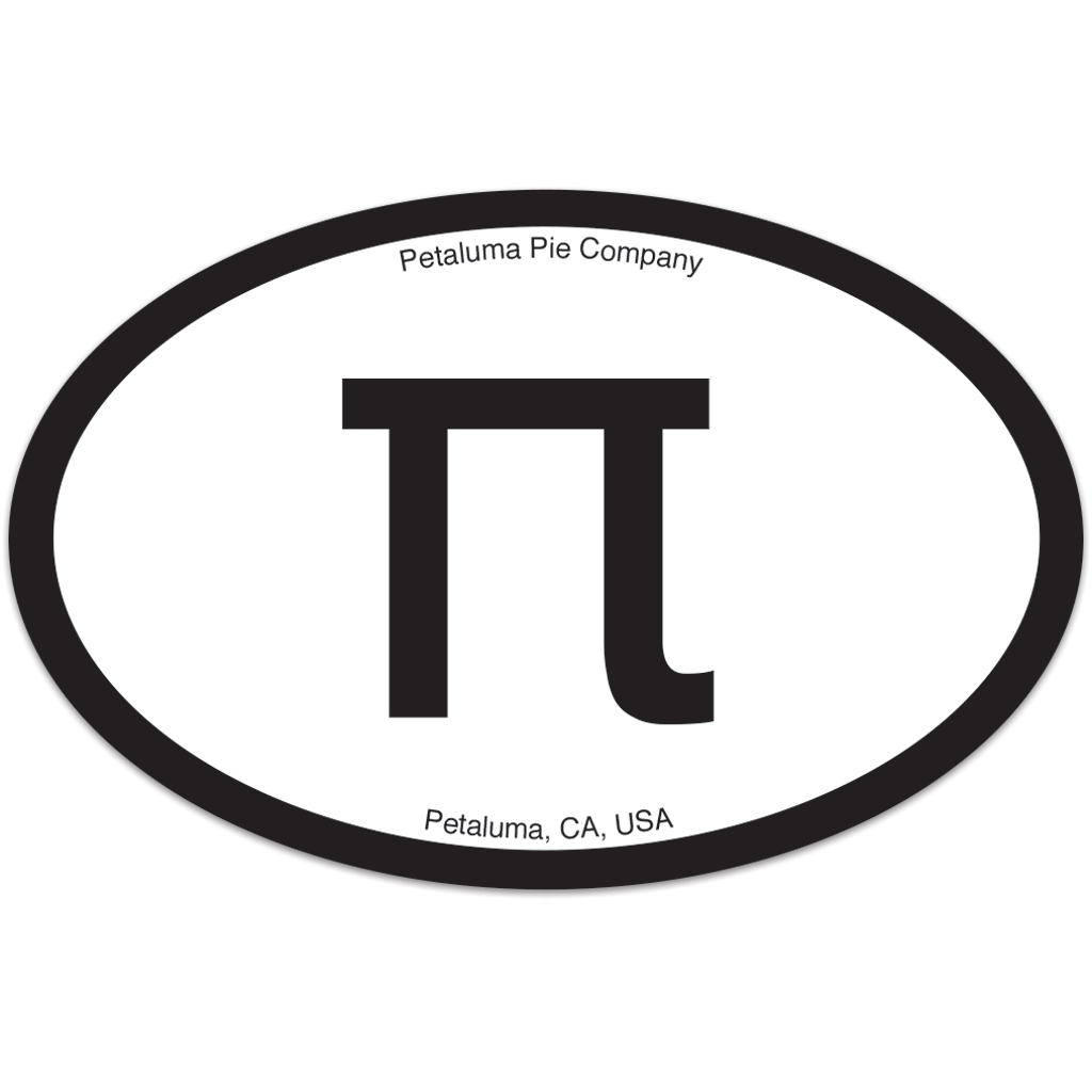 Pi Euro Sticker
