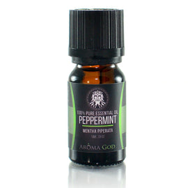 Peppermint Essential Oil - Aroma God - Aromatherapy