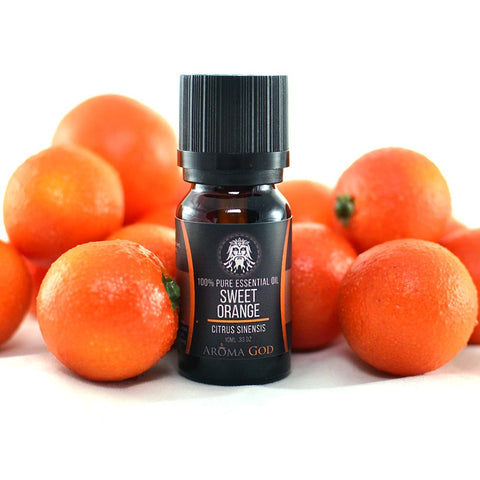 Sweet Orange Essential Oil - Aroma God - Aromatherapy