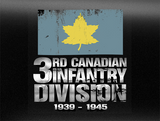 3rd Canadian Infantry Divison Army World War 2 Vehicle Bumper Sticker