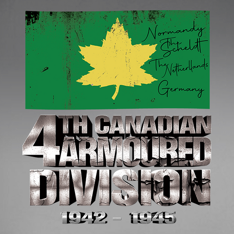 4th Canadian Armoured Divison World War 2 Decal