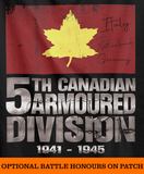 5th Canadian Armoured Division World War 2 T-Shirt