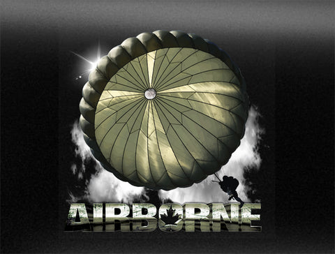 Airborne Vehicle Bumper Sticker