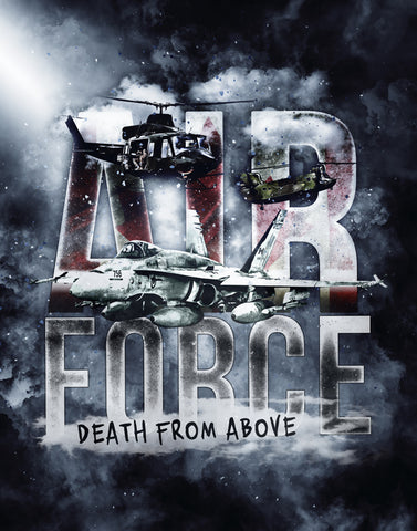 Air Force Death From Above Poster