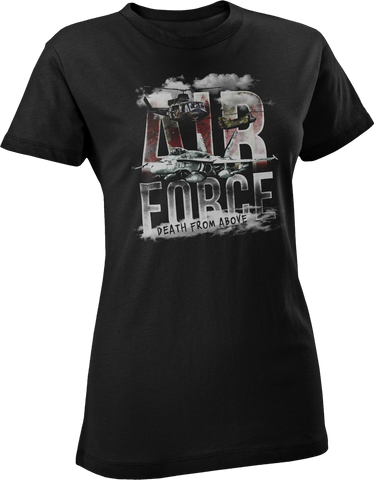 Air Force Death Front Above Women's T-Shirt