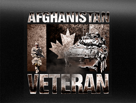 Afghanistan Veteran Vehicle Bumper Sticker