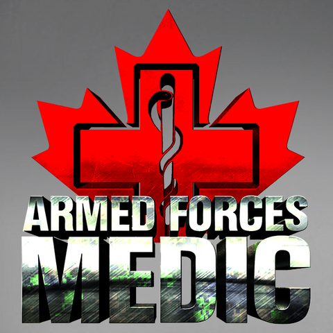 Armed Forces Medic Decal
