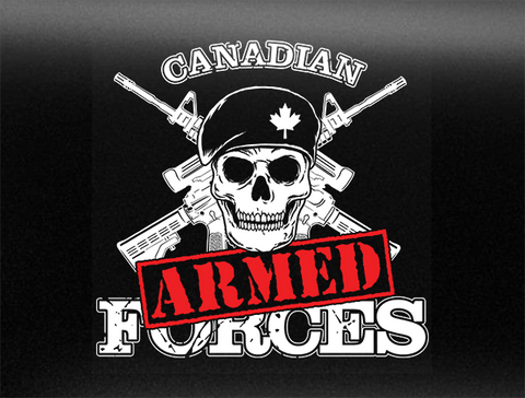 Armed Forces Vehicle Bumper Sticker