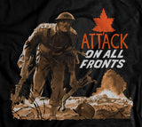 Attack On All Fronts World War 2 Hoodie