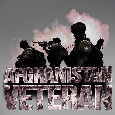 Afghanistan Veteran Mk. 3 Decal