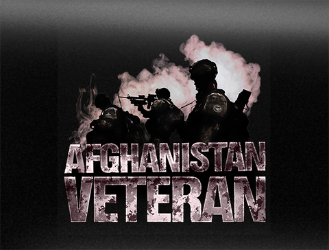 Afghanistan Veteran Vehicle Bumper Sticker Mk. 3
