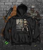 Historic World War 1 Baptism of Fire Memorial Hoodie