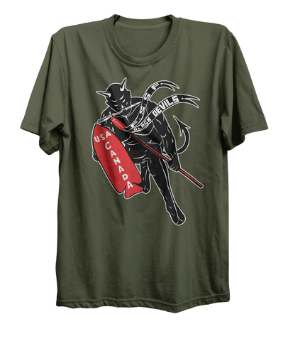 "First Special Service Force ""Devil's Brigade"" World War 2 T-Shirt"