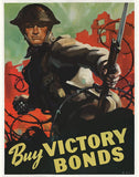 Buy Victory Bonds World War 2 Poster