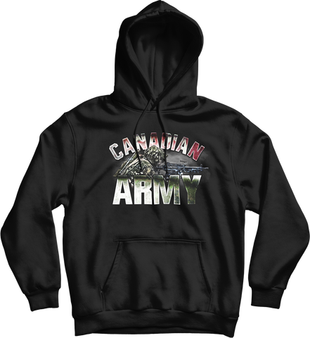 Army Light Machine Gunner Hoodie