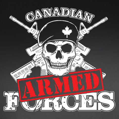 "Armed Forces ""Sorry"" Decal"