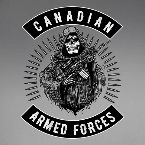 Armed Forces Reaper Decal
