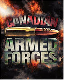 "Armed Forces ""Sorry"" Bullet Poster"