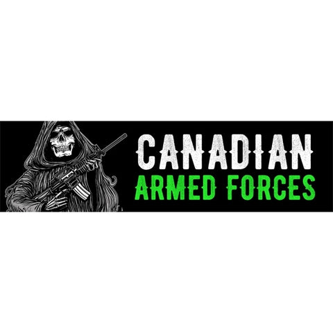 Armed Forces Reaper Bumper Sticker