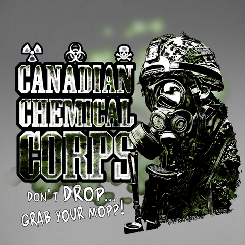 Canadian Chemical Corps Decal