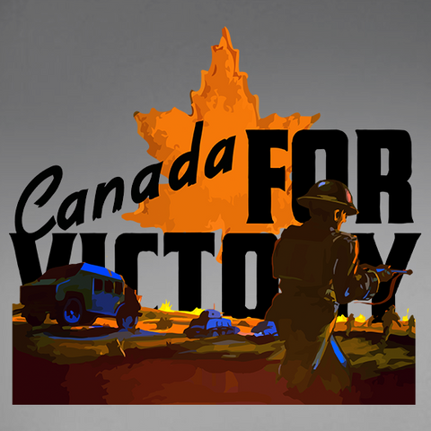 Canada For Victory V3 Decal