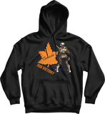 Canada For Victory World War 1 Bayonette Soldier Hoodie