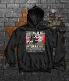 Historical Christmas in Hell - Ortona - World War 2 Memorial Hoodie