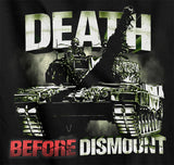 Death Before Dismount Coyote, LAV, Leopard T-Shirt