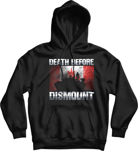 Death Before Dismound Mechanized Hoodie