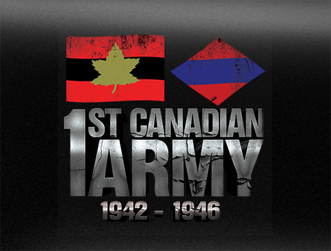 First Canadian Army World War 2 Vehicle Bumper Sticker