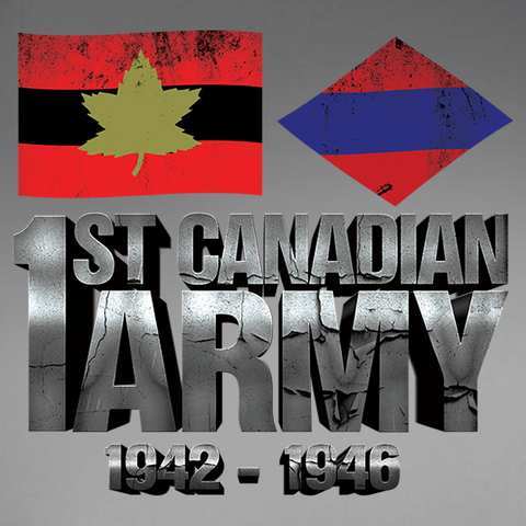 First Canadian Army World War 2 Decal