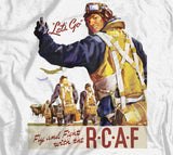 Fight And Fly With The Air Force World War 2 T-Shirt