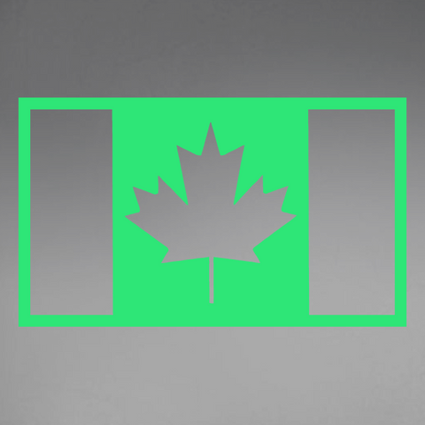Military Flag (IR) Window Decal
