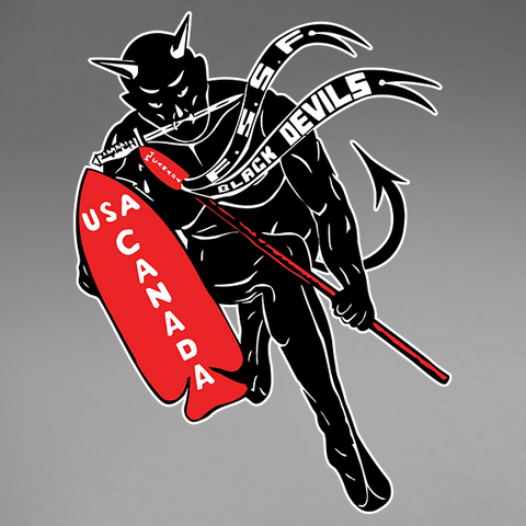 First Special Service Force Devil's Brigade v2 Window Decal
